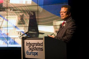 Mike Blackman, Managing Director Integrated Systems europe (ISE)