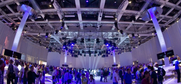 Video zur IFA 2011: Das Lichtdesign des Sony-Messestands