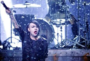 Marilyn Manson als Vertretung für Till Lindemann