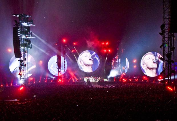 Coldplay und die unsichtbare Bühne