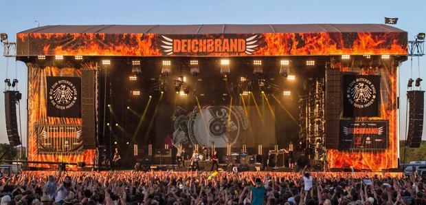 Deichbrand Festival 2013 mit Meyer Sound LEO