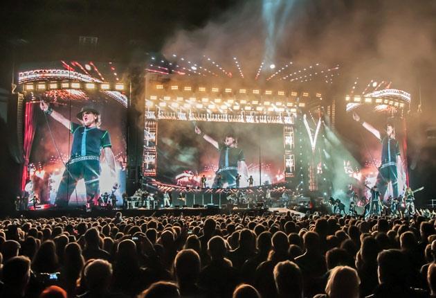 Udo Lindenberg & die Flexibelbetriebe – Stadiontour 2014