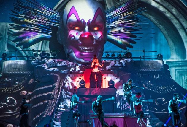 Ein 3D-Clown für DJ BoBo