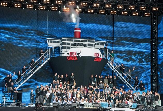 Udo Lindenberg 2014: Crew und Equipment