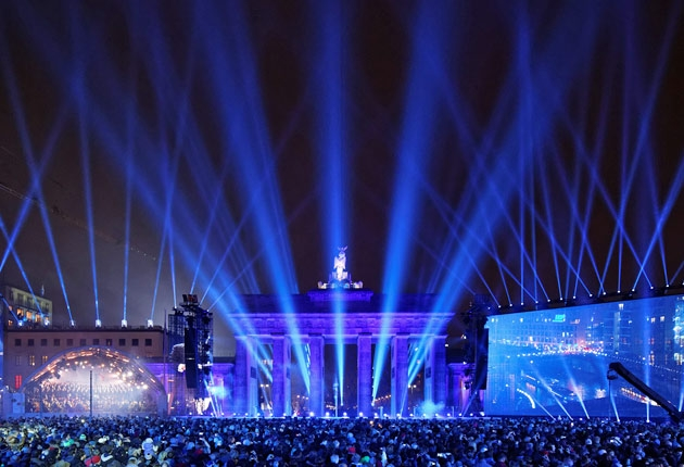 Björn Hermanns Lichtdesign am Brandenburger Tor