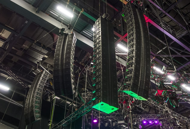 """Sound für Linkin Park: Systech Vic Wagner und FoH Ken """"Pooch"""" Van Druten"""