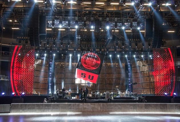 Die Fantastischen Vier REKORD Tour 2015 – Lichtequipment
