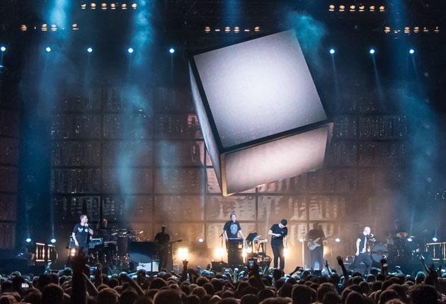 Die Fantastischen Vier auf REKORD Tour 2015