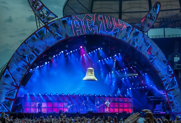 Cosmo Wilson: 25 Jahre Lichtdesign für AC/DC