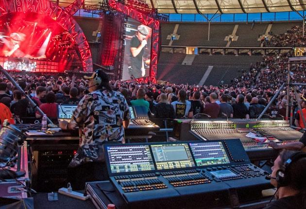 AC/DC live 2015 – Equipmentliste