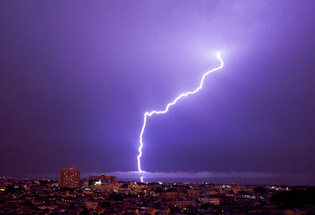 Thunder and Lightning – (it's frightning)