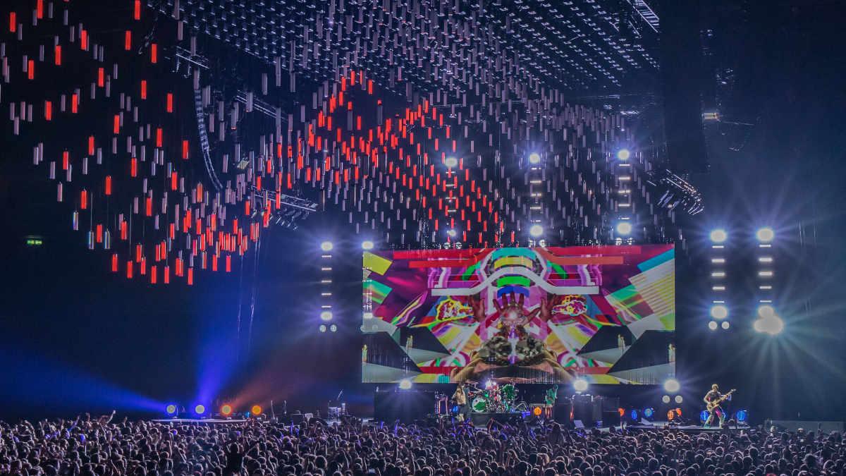 Scott Holthaus und sein Lichtdesign für die Red Hot Chili Peppers