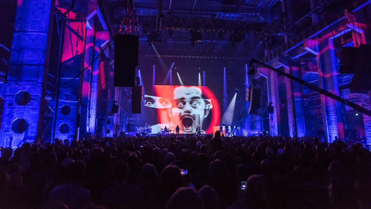 Yello im Kraftwerk Berlin
