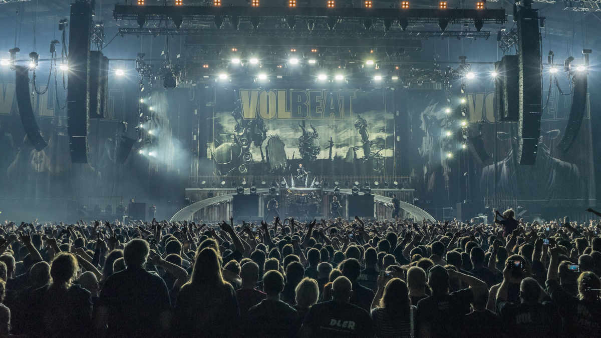 """Equipment: Volbeat """"Seal the deal & let's boogie"""" Tour"""