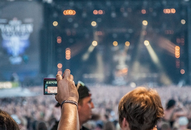 Zur Frequenzsituation beim Wacken Open Air