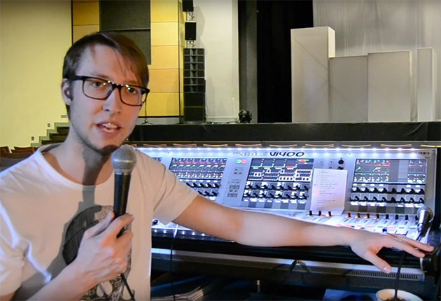 Am FoH beim Luther-Rock-Musical in Speyer