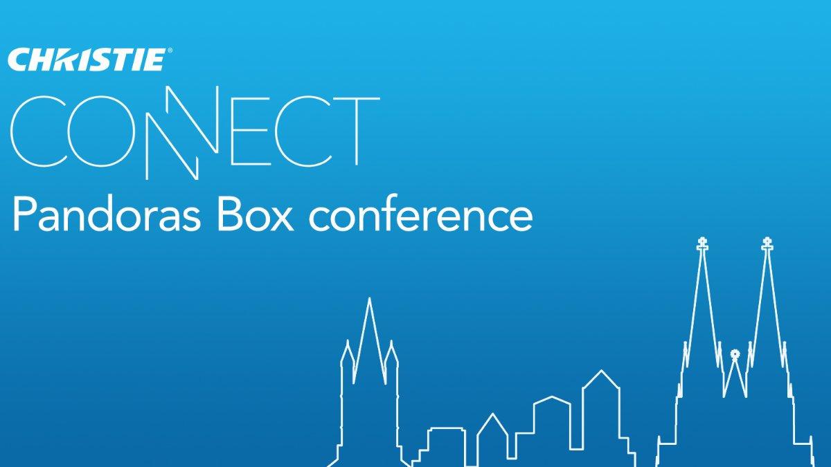 Christie lädt zur CONNECT Pandoras Box Conference ein