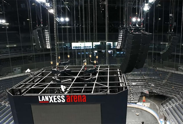 TW AUDiO in der Lanxess Arena