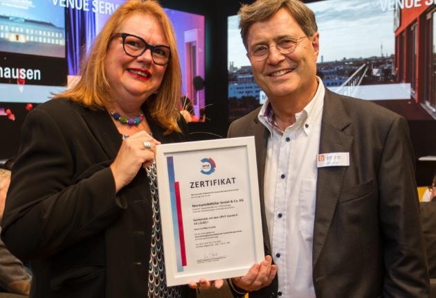 Neumann&Müller wird von der unabhängigen Zertifizierungsstelle DPVT rezertifiziert