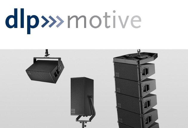 Über dlp motive sind jetzt die d&b V- und E-Serie sowie D80-Controller verfügbar