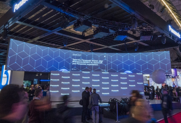 """""""Showstopper"""" Live-Event von Panasonic auch auf der ISE 2018 wieder am Start"""