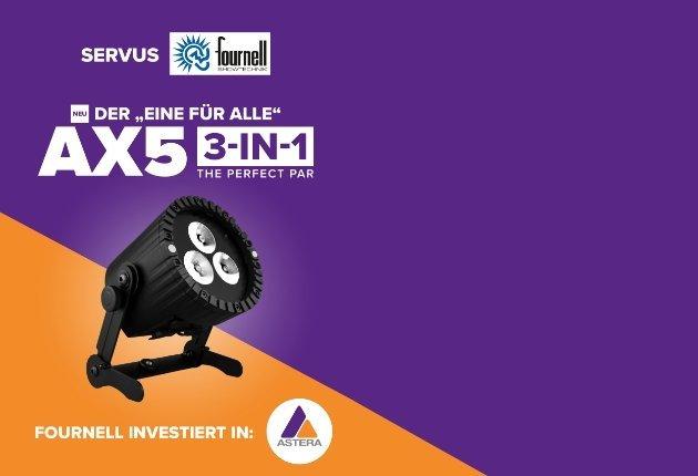 fournell showtechnik investiert kräftig in den Astera AX5 TriplePAR