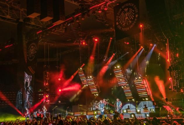 Diese Movecat-Kettenzüge verwendeten Die Toten Hosen auf ihrer Tour