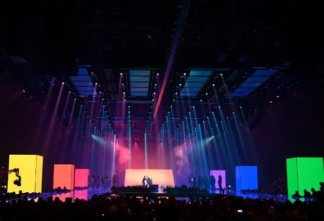 LED-Kreativboost von Faber Audiovisuals für die MTV European Music Awards