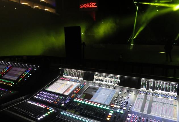 Matt Butcher boostet mit DiGiCo-Konsolen die Gorillaz-Tour
