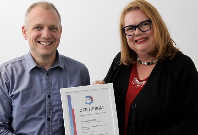 schoko Pro zertifiziert sich nach der Deutschen Prüfstelle für Veranstaltungstechnik (DPVT)