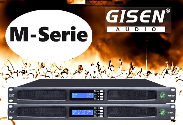 Gisen Audio präsentiert neue M-Serie für Rental und Installation