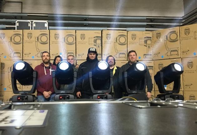 HELi Showequipment holt sich den ELATION Proteus Hybrid ins Portfolio