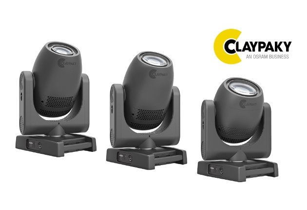 Claypaky stellt die kompakte LED-Moving Light Axcor 300 Serie vor