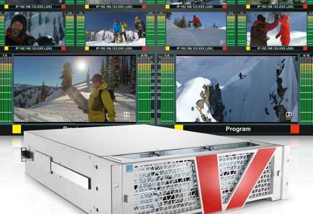 Lawo präsentiert den weltweit ersten unendlich erweiterbaren Multiviewer vm_dmv64-4