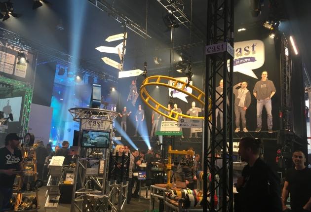 Erfolgreiche Prolight + Sound 2018 für cast C. ADOLPH & RST DISTRIBUTION