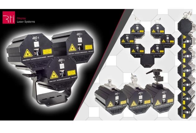Modulare RTI NEO ONE Lasersysteme auf der Prolight + Sound PRG Stage eingesetzt