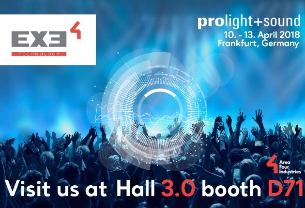 EXE Technology stellt neue Dynamic Stack Tracks auf der Prolight + Sound vor