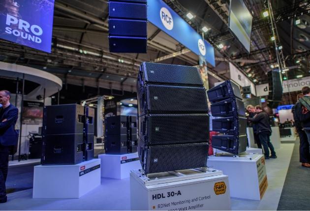 RCF und dBTechnologies blicken auf eine erfolgreiche Prolight+ Sound zurück