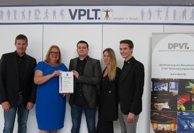 Wilhelm & Willhalm event technology group ist von der DPVT zertifiziert