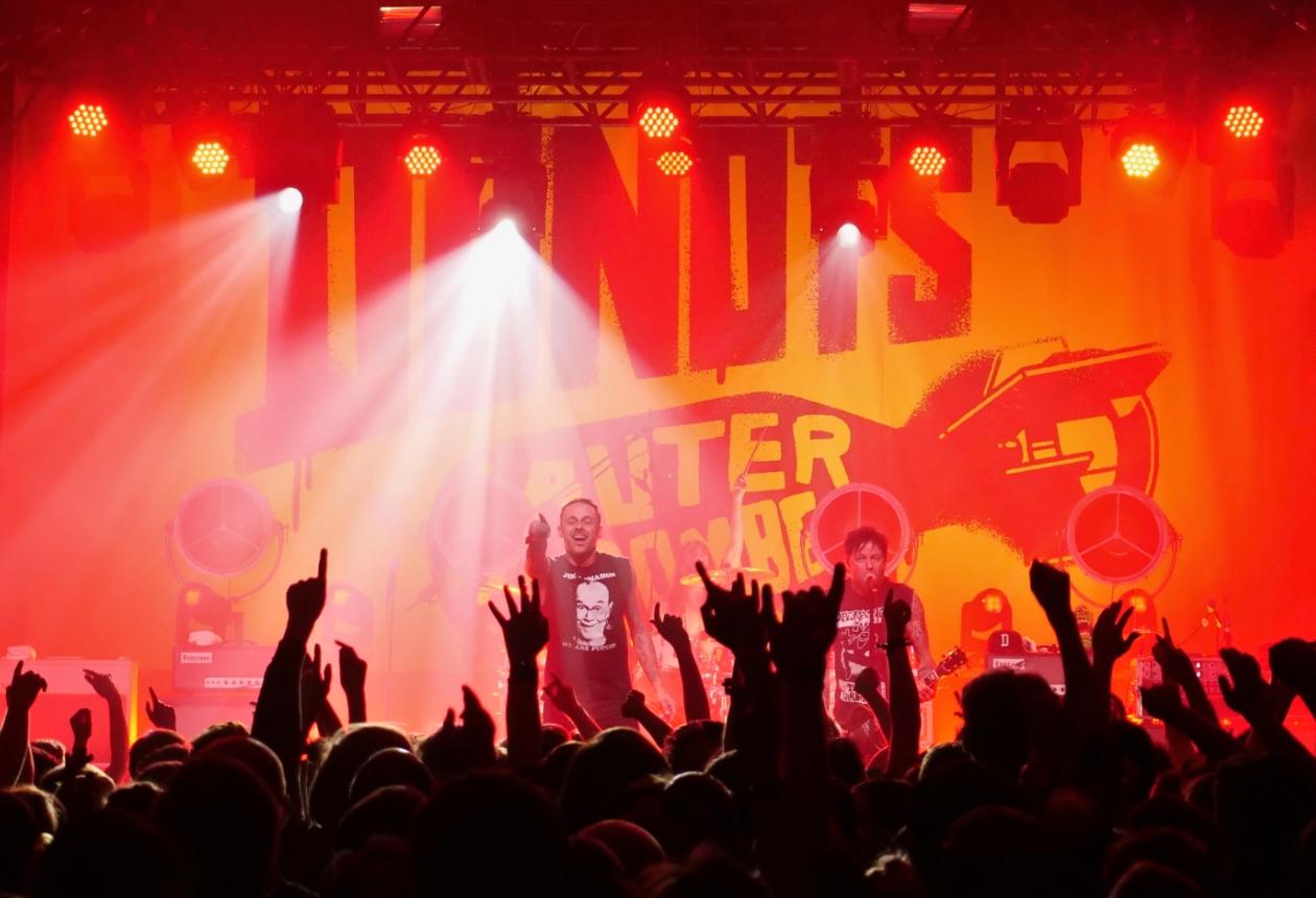 Alles über das Lichtdesign und den Sound der Donots Lauter als Bomben-Tour