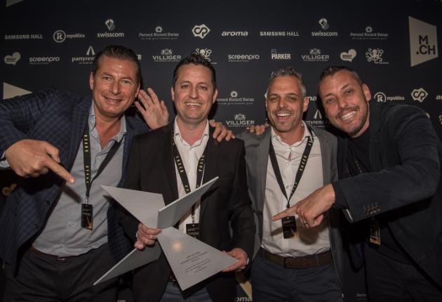 Winkler Livecom gewinnt den Schweizer Xaver Award in der Kategorie Best Expo Project