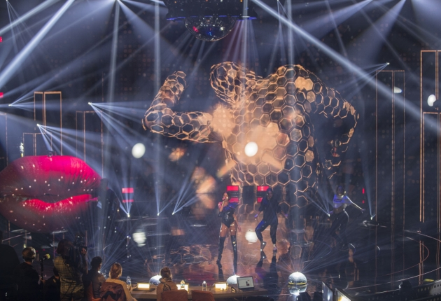 Robe und MDC Lichtgestalten bei Deutschland sucht den Superstar (DSDS)