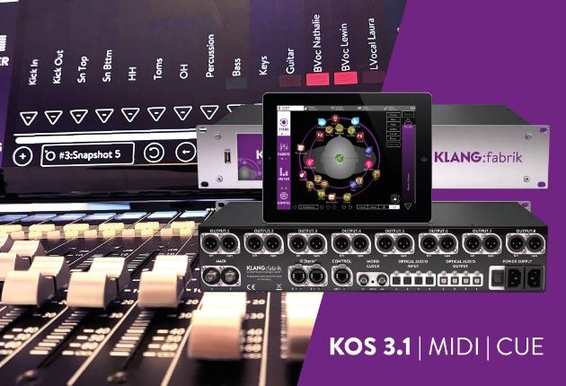 KLANG:technologies stellt ein Update für das  3D In-Ear Mixing-System KOS vor