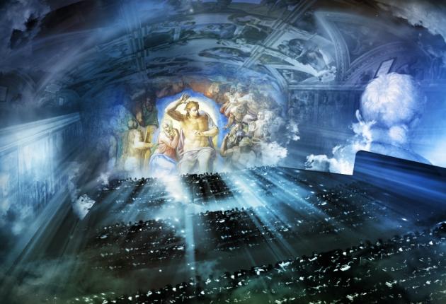 Giudizio Universale erweckt mit Panasonic AV-Technik die Sixtinischen Kapelle zu neuem Leben