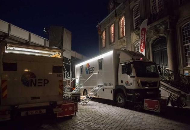 NEP Belgien investiert in ein Streamline S8L UHD-Ü-Wagen von Broadcast Solutions