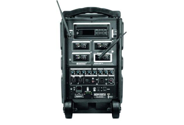 Omnitronic präsentiert modulares und mobiles PA-System MOM-10BT4