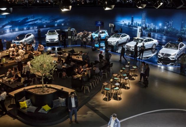 Das Planungsbüro rgb setzt beim Autosalon Genf auf Beleuchtungs-Systeme von ETC