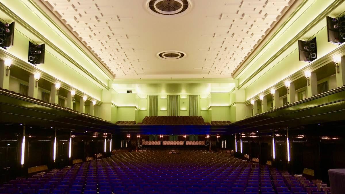 Die Technik im Bremer Konzerthaus Die Glocke