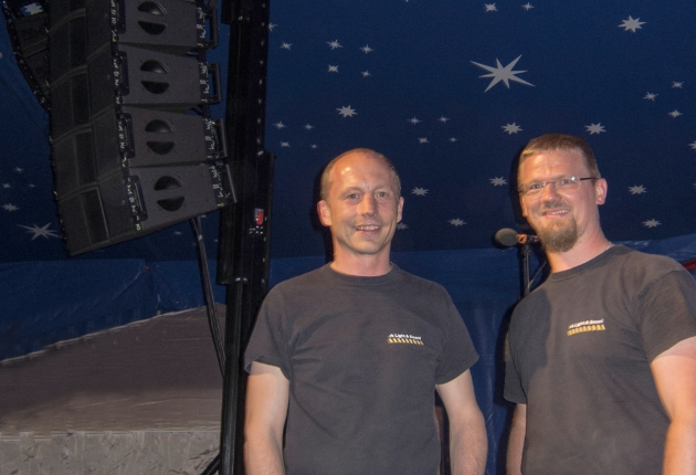 rk light & sound investiert in ein neues L-Acoustics Kara System