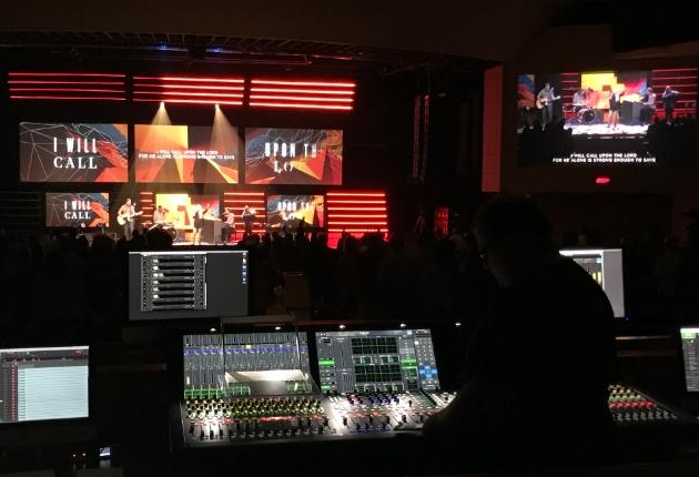 Die McLean Bible Church setzt auf IP mit Lawo Mischpulten und Routing-Systemen